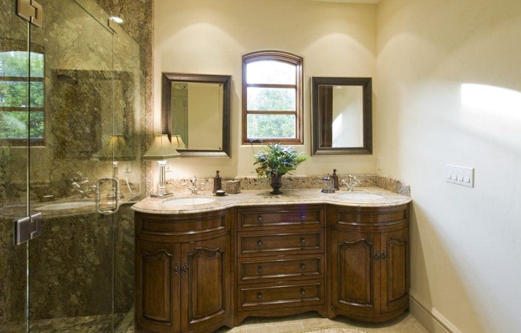 waschtisch badezimmer marmor
